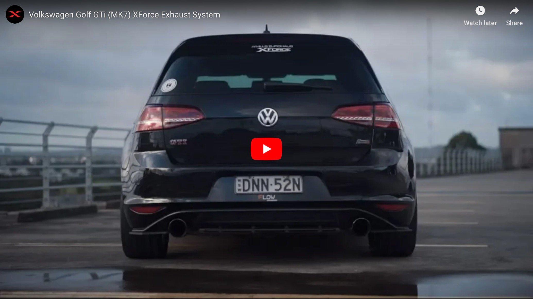 Introducing Our Volkswagen Golf Gti Mk7 Product Line Xforce Australia
