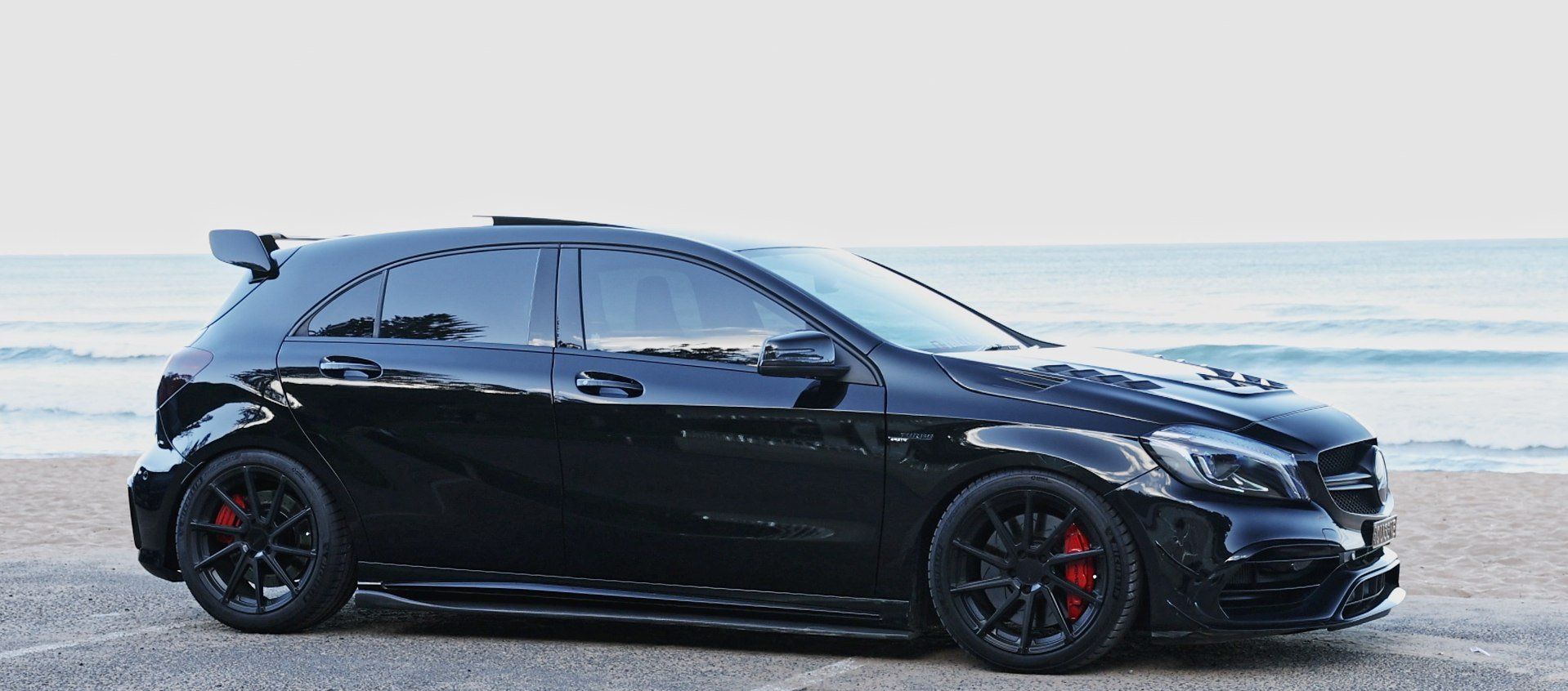 Mercedes A45 AMG (W176) by XForce Performance Exhaust