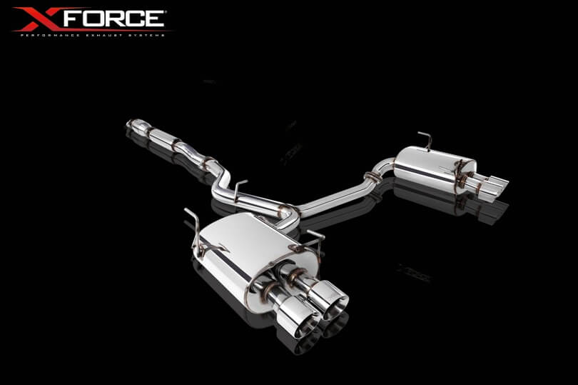 XForce Turbo-Back System for WRX STI Sedan 2011-2014 - 2