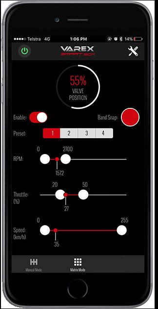 iphone-matrix mode